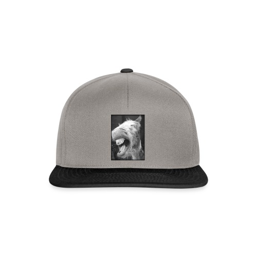 lachender Esel - Snapback Cap