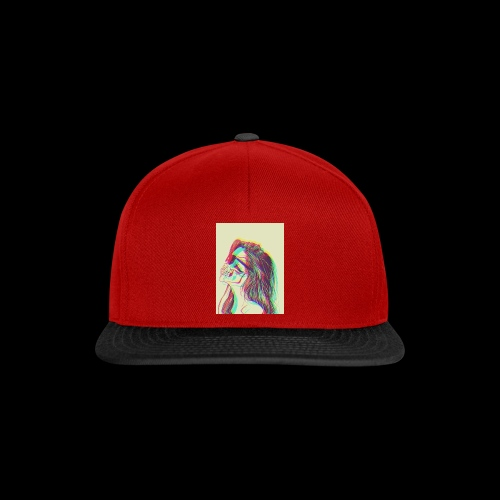 The girl with demons - Snapback Cap