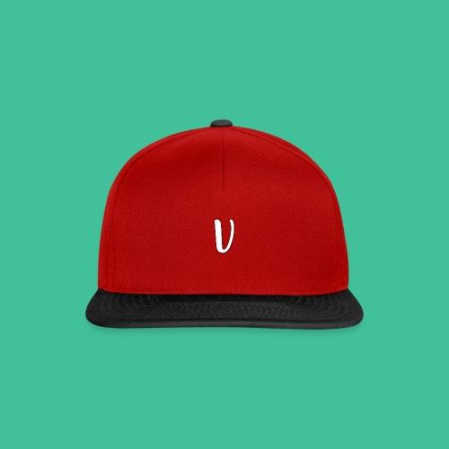 Velosity V Icon - T-Shirt Washed Burgundy Clr - Snapback Cap