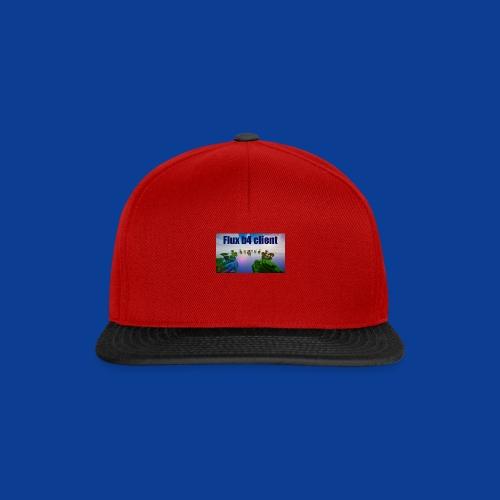 Flux b4 client Shirt - Snapback Cap