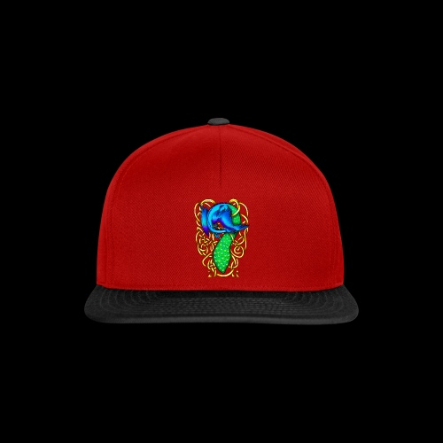 Peacock Dragon - Snapback Cap