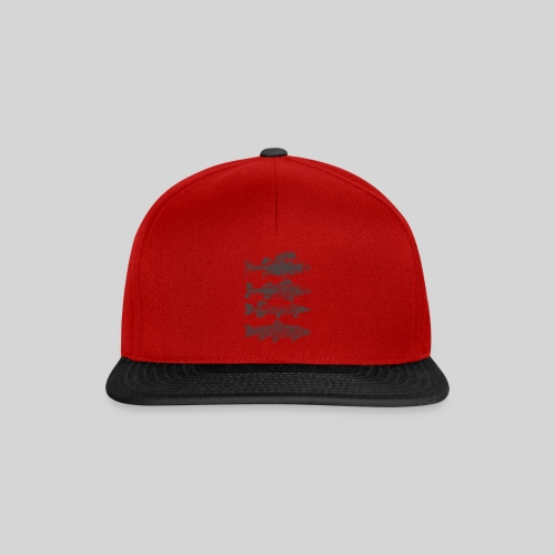 in the deep lake - Snapback Cap