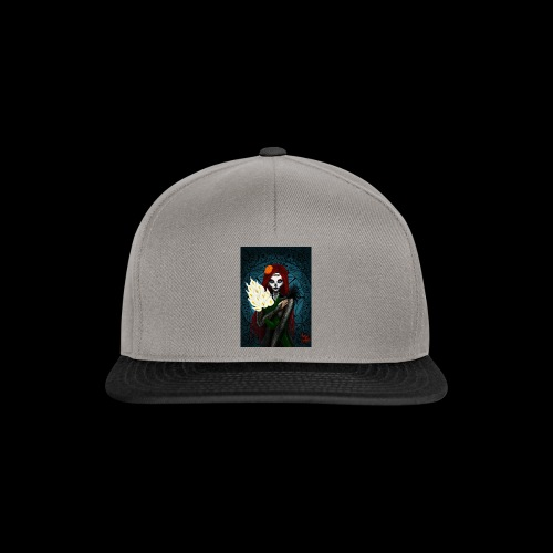 Death and lillies - Snapback Cap