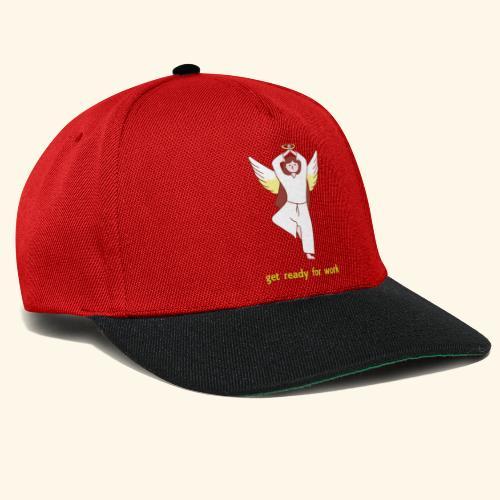 get ready for work Yoga Angel - Snapback Cap