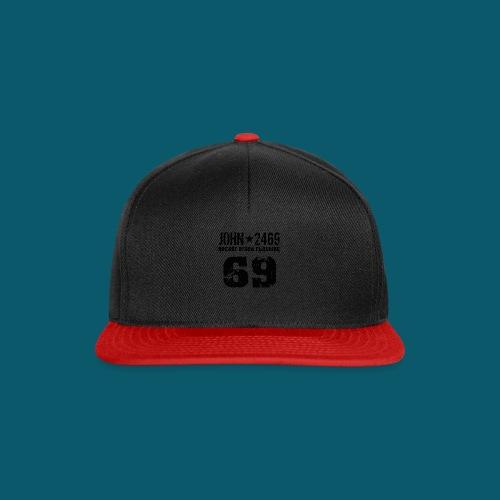 john 2469 numero trasp per spread nero PNG - Snapback Cap