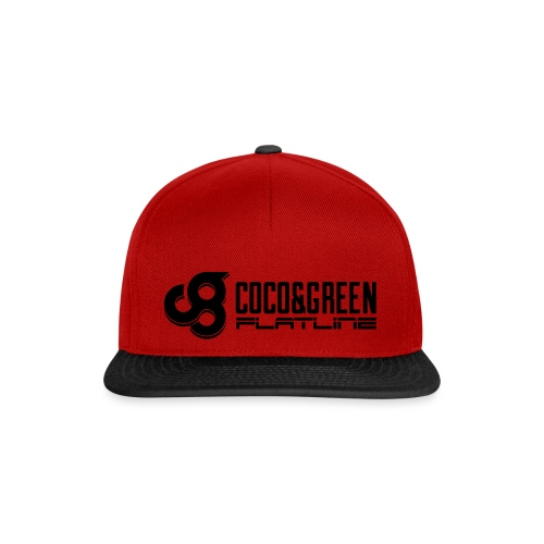 Coco and Green And Flatline - Snapback Cap