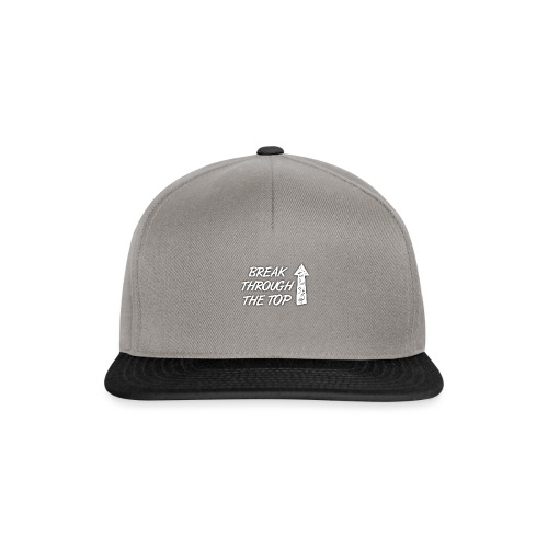 BreakThroughTheTop - Snapback Cap