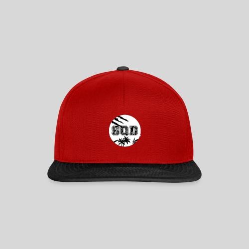 SQD tshirt logo wit - Snapback cap