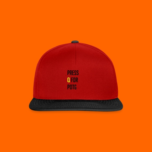 Press Q for play of the game - Snapback Cap
