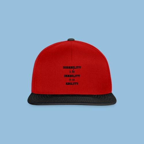 Ability4 - Snapback cap