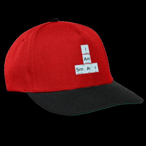 I Am Smart Periodic Table Design - Snapback Cap