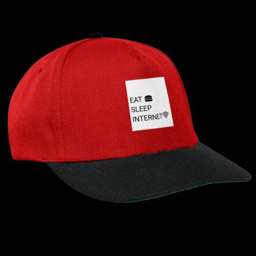 EAT SLEEP INTERNET - Snapback Cap