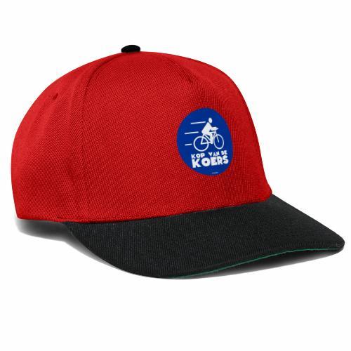 Kop van de koers - Snapback cap
