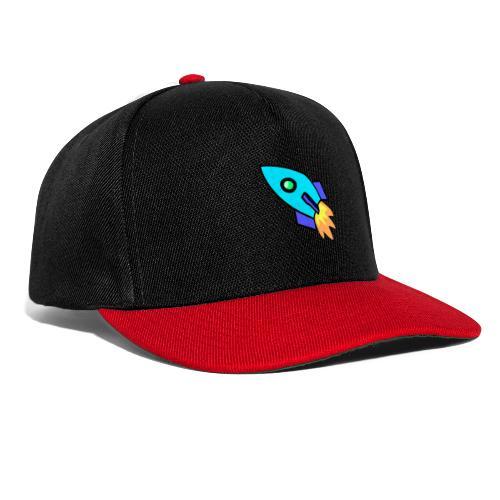 Blue rocket - Snapback Cap