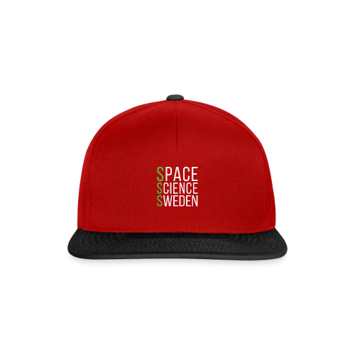 Space Science Sweden - vit - Snapbackkeps