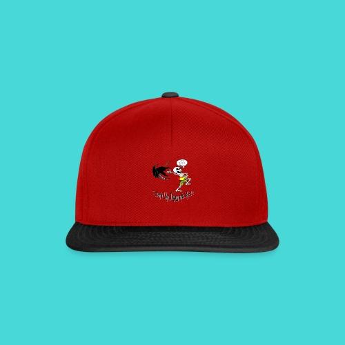 Happy Living Skeleton - Snapback cap