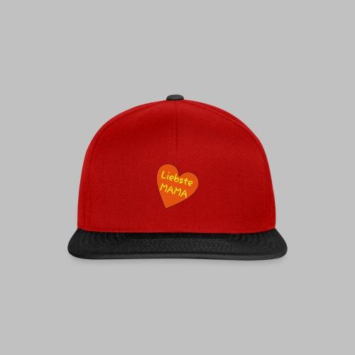 Liebste Mama - Auf Herz ♥ - Snapback Cap