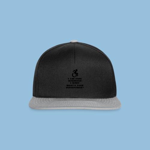 Superpower2 - Snapback cap