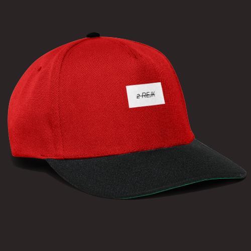 2 rejk valkoinen - Snapback Cap