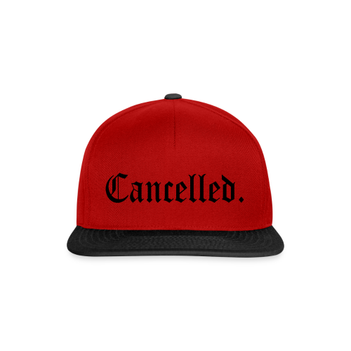 King - Cancelled - Casquette snapback