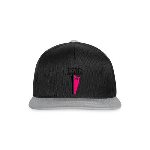 ESID Zwart-roze - Snapback cap
