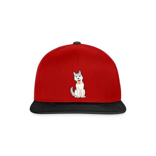 Husky grigio occhi azzurri - Snapback Cap