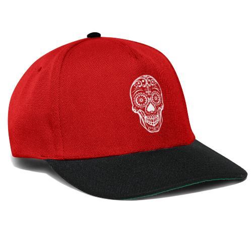 Skull white - Snapback Cap