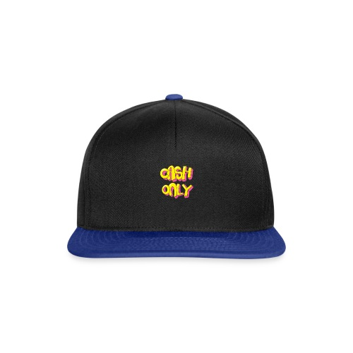 Cash only - Snapback cap