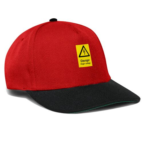 danger High Voltage - Snapback-caps