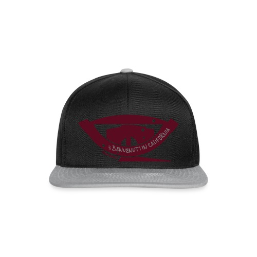 Benvenuti in California - Snapback Cap