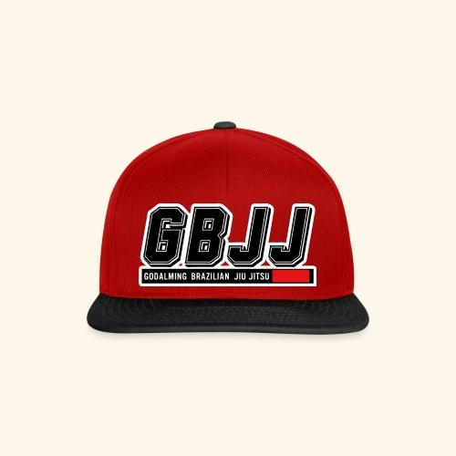 GBJJlogo3h - Snapback Cap