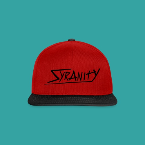 Syranity Blue Shirt Black Pressing (Boys) - Snapback Cap
