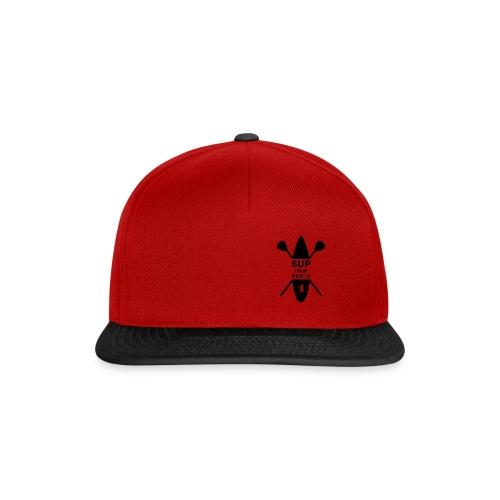 SUP TOUR BERLIN - Black Logo - Snapback Cap