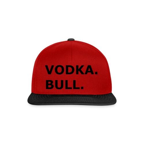 Vodka Bull Schwarz - Snapback Cap