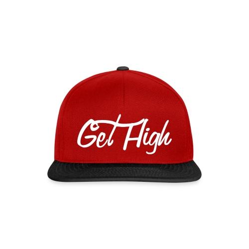 GET HIGH Cursiva - Gorra Snapback