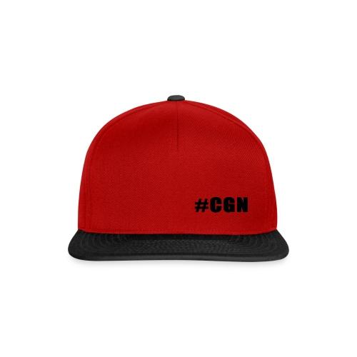 CGN schw png - Snapback Cap