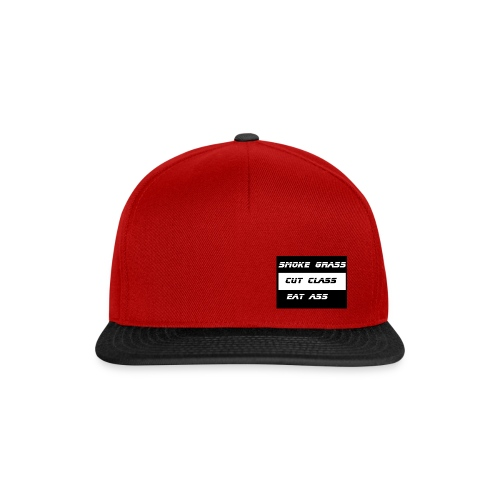 Smoke, Cut, Eat - Snapback Cap
