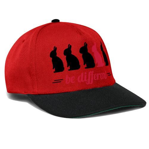 be different Hasen Kanichen Ostern bunny Häschen - Snapback Cap