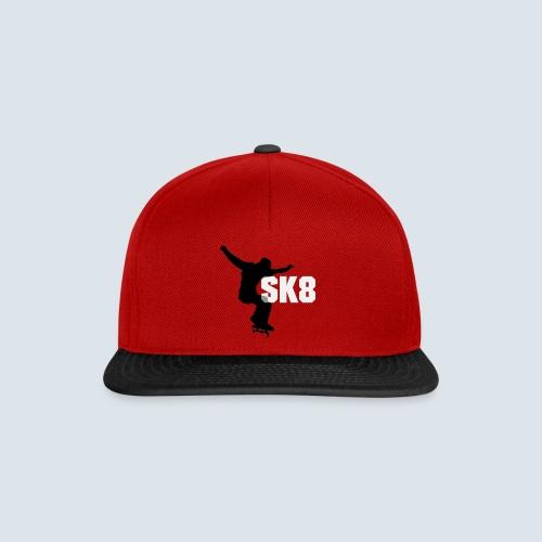 SK8 Logo1 png - Snapback Cap