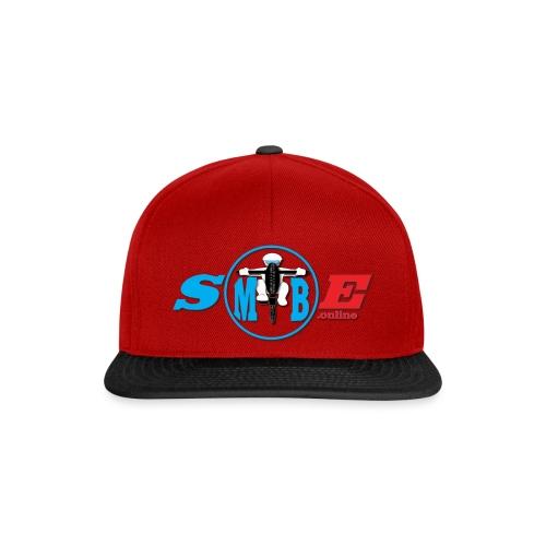 SMTBE biker logo DECAL red big - Snapback Cap