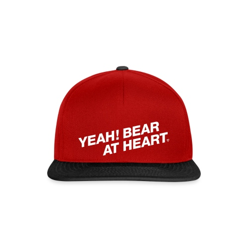 Yeah Bear at Heart #2 - Snapback Cap