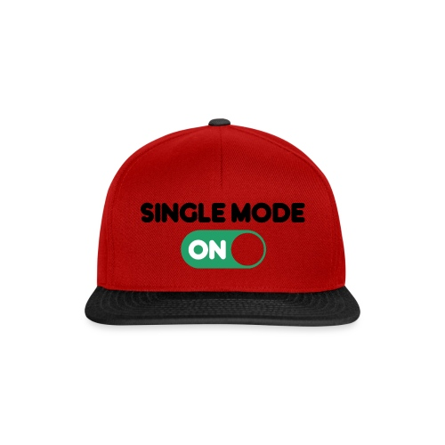 single mode ON - Snapback Cap