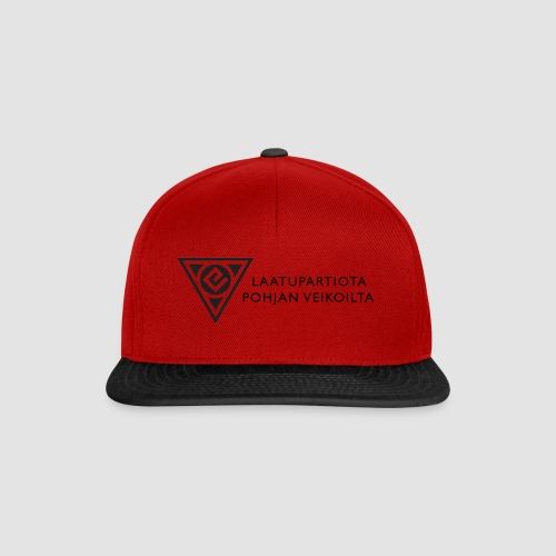 Laatupartiota iso - Snapback Cap