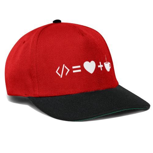 Developer Equation - Snapback Cap