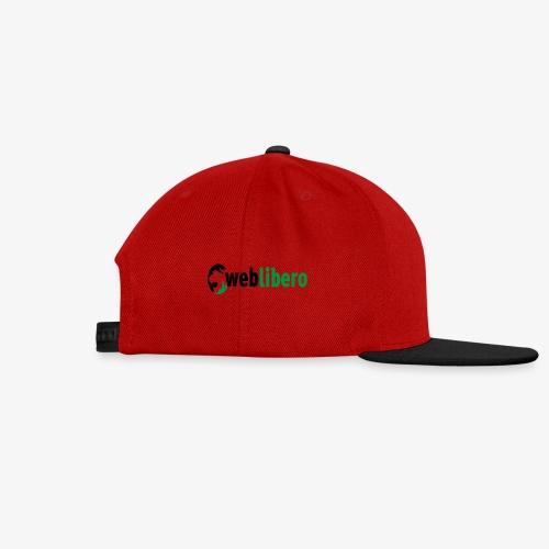 logo canale weblibero - Snapback Cap