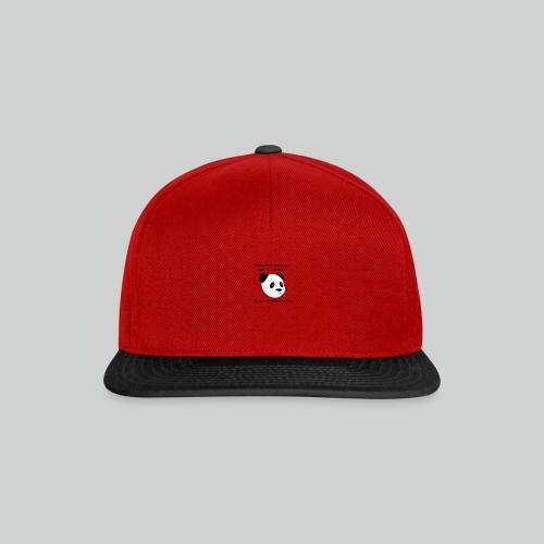 Against Racism Panda - Snapback Cap