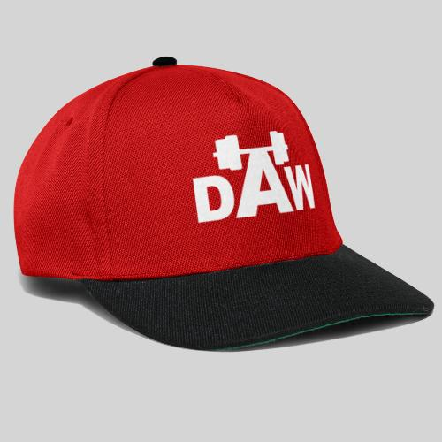 DAW white groot middle chest and back - Snapback Cap