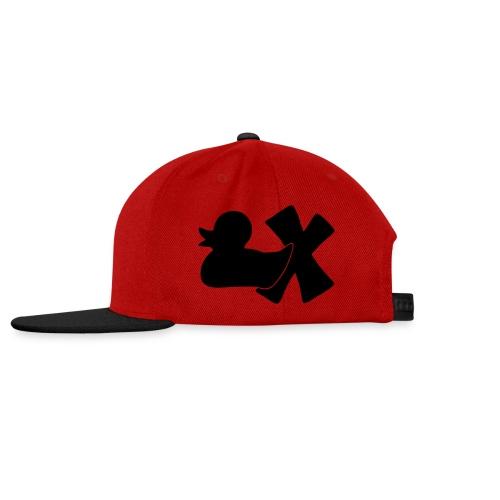 Ente mit X v3 3 klein - Snapback Cap