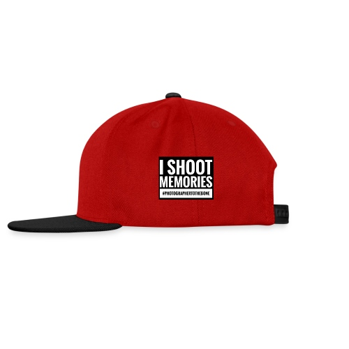 I SHOOT MEMORIES, #photographertothebone - Snapback Cap