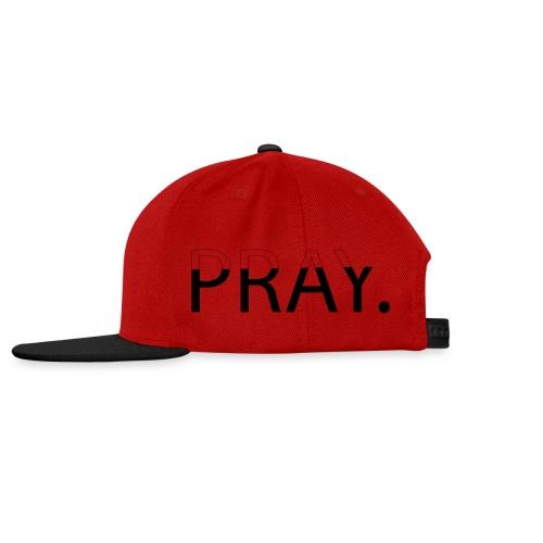 PRAY - Casquette snapback